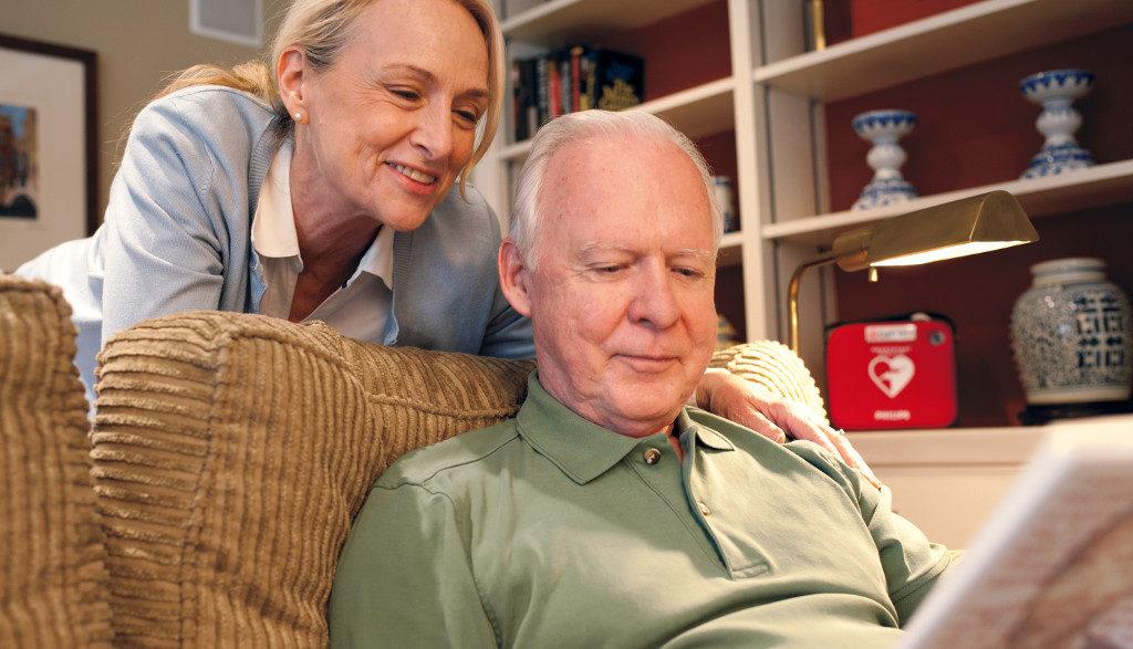 Defibrillator im Haushalt zuhause ist für Risikopatient sinnvoll