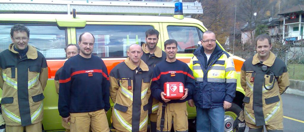 Feuerwehr, Polizei und andere Blauchlichtorganisationen als First Responder in der Schweiz immer mehr verbreitet