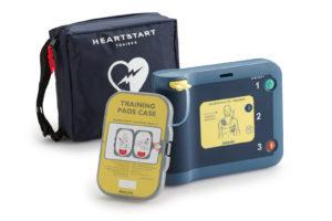 Training und Schulung mit AED Heartstart FRx Schweiz