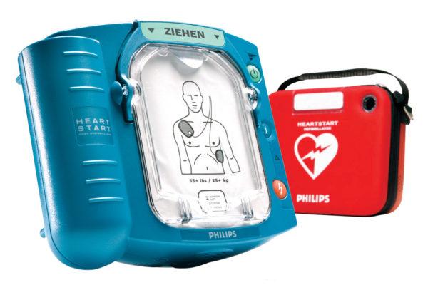 Defibrillator fuer Laien in der schweiz Leben retten