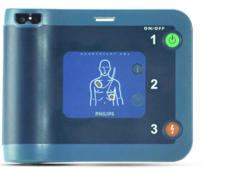 Bedienung Philips Defibrillator AED