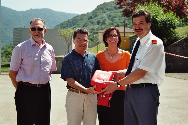 Defibrillator Biasca, Kanton Tessin