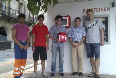 Tessin Public Access Programm AED Defibrillator
