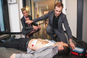 HeartStart HS1 Training AED Defibrillator