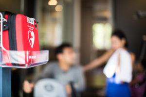 Wandhalterung Philips HeartStart FRx HS1 FR3 indoor Büro